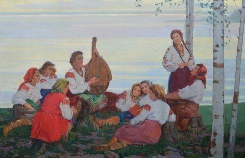 «Песни над Днепром» 1950 е - Максименко Александр Григорьевич
