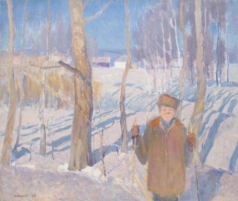 «Весеннее солнце» 1985 - Мишнев Виктор Павлович