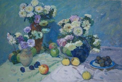 «Цветы и яблоки» 1965 - Кошевой Степан Львович