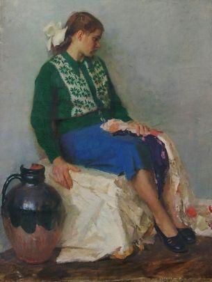 «Ожидание» 1956 - Василенко Владимир Викторович