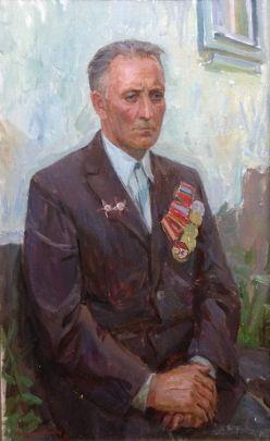 «Портрет партизана Конюх Н.С.» 1981 - Макогон Игорь Иванович