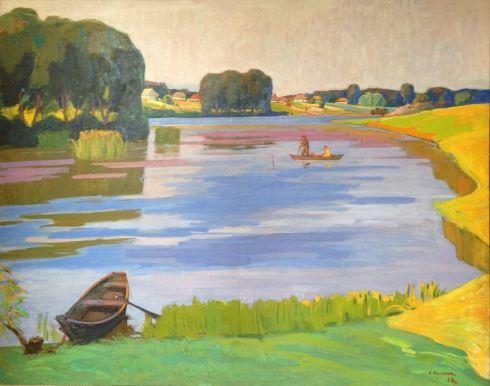 «Утро на озере» 1967 - Кулик Иван Анисимович
