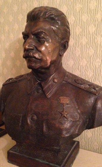 Бюст «Генералиссимус Советского Союза И. В. Сталин»-Ингал Владимир Иосифович