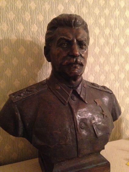 Бюст «Генералиссимус Советского Союза И. В. Сталин» 1952 - Ингал Владимир Иосифович