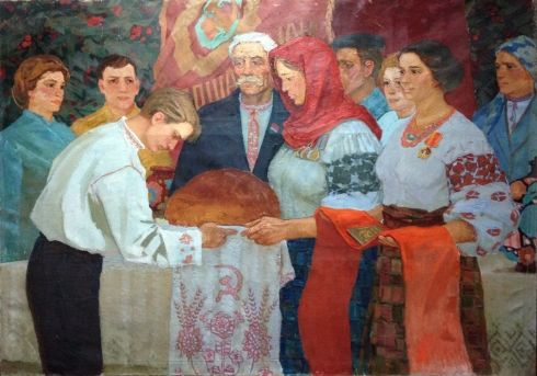 «С Хлебом-солью» 1977 - Клименко Виктор Иванович