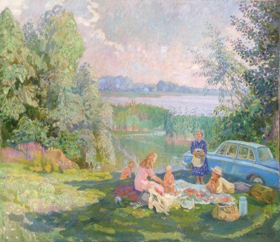 «Лето на Днепре» 1975 - Юзефович Наталья Владимировна