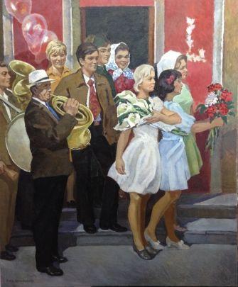 «Теплая встреча» 1970 е - Шполянская Людмила Григорьевна
