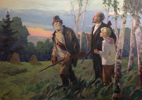 «В.И.Ленин на охоте» 1967 - Нестеренко Борис Григорьевич