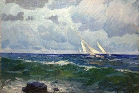 «Море» 1971 - Цион Рахиль Львовна
