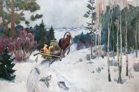 «Лиса и волк» 1970 - Гевелюк Николай Петрович