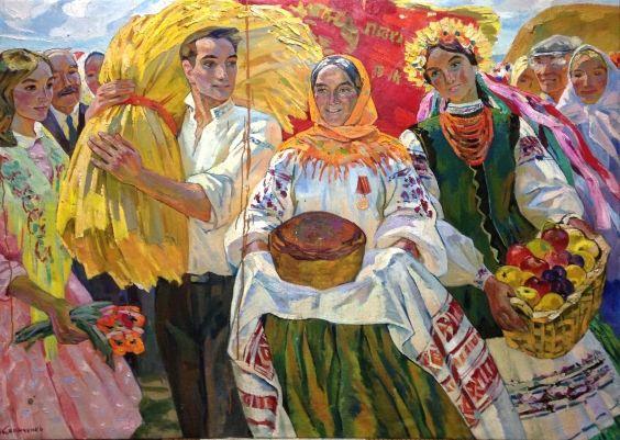 «Праздник Урожая» 1969 - Кириченко Елена Степановна