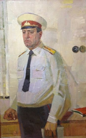 «Старшина милиции Мусиенко С.К.» 1982 - Кечеджи Александр Гаврилович