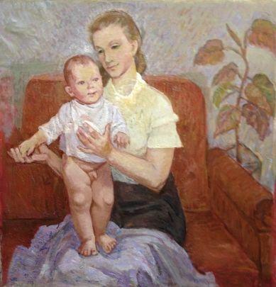 «Мать и дитя» 1963 - Титова Ольга Геннадьевна