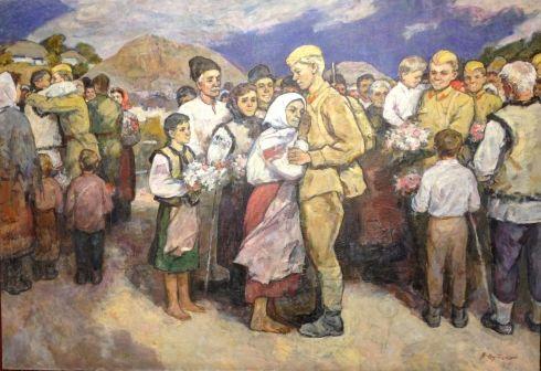«Встреча освободителей» 1982 - Путейко Владимир Григорьевич