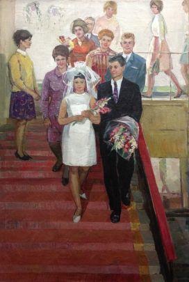 «Заводская свадьба» 1969 - Тараненко Валентин Григорьевич