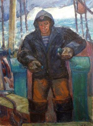 «У трюма. Берингово море» 1973 - Илюшин Алексей Андреевич