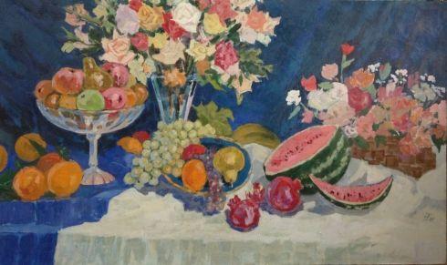 «Цветы и фрукты» 1981 - Таиров Николай Христофорович