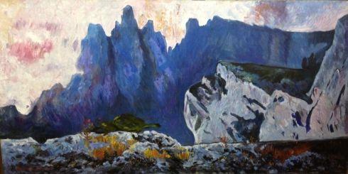 «Сиреневые горы» 1970 е - Толочко Виктор Иванович