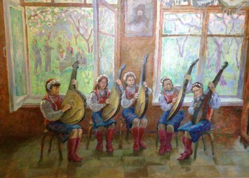 «Народные песни» 1980 - Строев Владимир Фролович