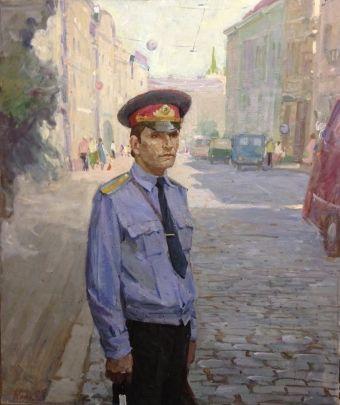 «На посту старшина милиции Пантя» 1982 - Клець Иван Тарасович