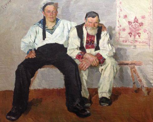 «Дед и внук» 1963 - Гурин Василий Иванович