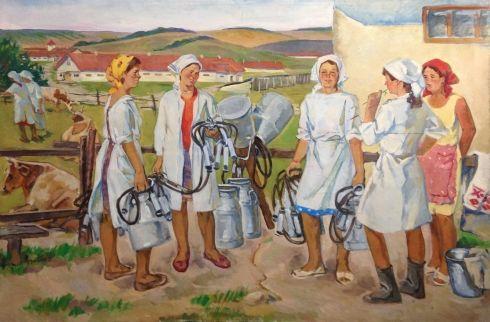 «Доярки» 1976 - Крыжевский (Крижевский) Григорий Зиновьевич