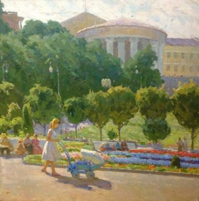 «Цветущий Крещатик» 1958 - Савич Марк Дмитриевич