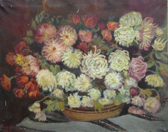 «Астры на столе» 1970 е - Юзефович Наталья Владимировна