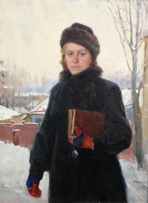 «Сельская учительница» 1950 е - Тихий Иван Антонович