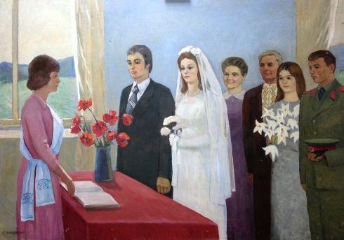«В Советском ЗАГСе» 1970 е - Шполянский Григорий Ефимович