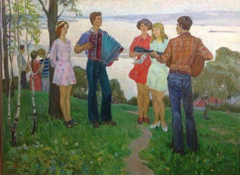 «Песни до утра» 1976 - Лельчук-Минская Марина Григорьевна
