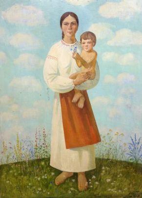 «Материнство» 1991 - Ткач Анатолий Степанович