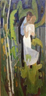«Поцелуй» 1970 е - Кузьминков Лель Николаевич