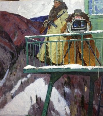 «На границе» 1973 - Толпекин Георгий Владимирович