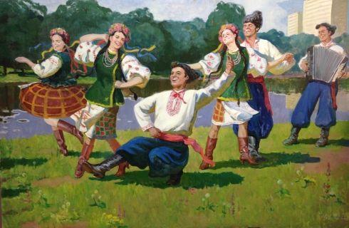 «Украинский танец» 1984 - Егорова Тамара Ивановна