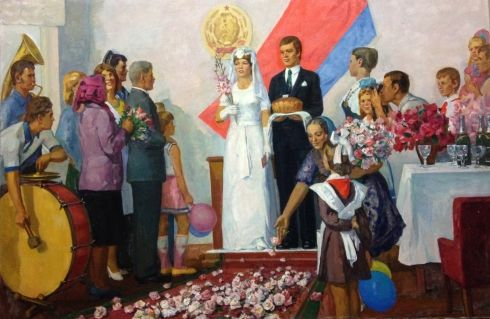 «Свадьба» 1970 е - Межерицкий Леонид Яковлевич