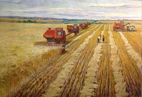 «Уборка Хлеба» 1982 - Герус Борис Степанович