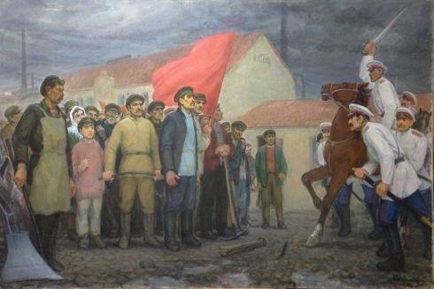 «Восстание 1905 года» 1986 - Гавдзинский Альбин Станиславович