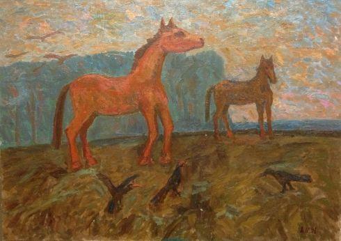 «Красные кони» 1991 - Илюшин Алексей Андреевич
