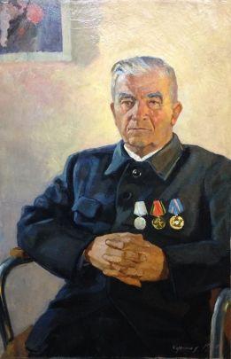 «Портрет партизана» 1969 - Кушнир Вениамин Владимирович