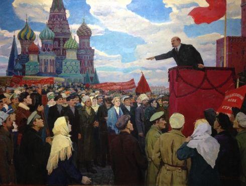 «Ленин на митинге» 1969 - Годунов Александр Фёдорович