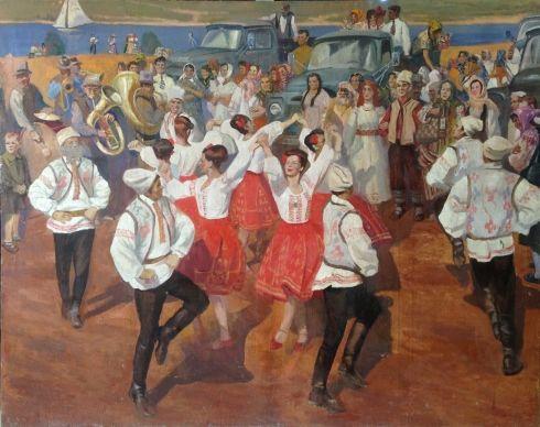 «Молдавская свадьба» 1977 - Аладжалова Елена Сергеевна