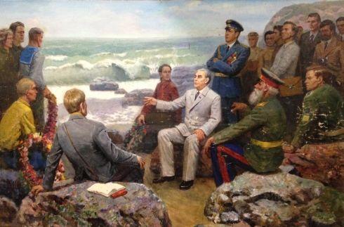 «Леонид Ильич Брежнев на Малой Земле» 1978 - Шматько Леонид Александрович