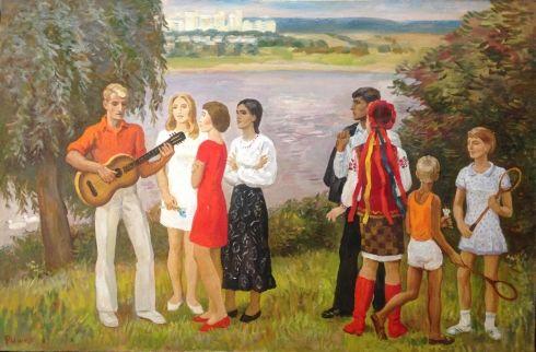 «На Днепре» 1970 е - Рыжих Виктор Иванович