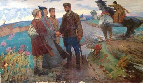 «Герой гражданской войны Николай Щорс» 1970 е - Шаталин Виктор Васильевич