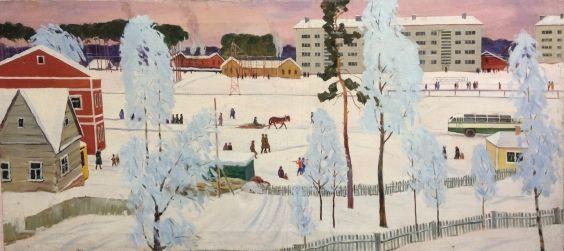«Рабочий поселок» 1960 - Домашников Борис Федорович