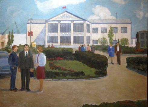 «Совхоз Солнечный в будни» 1975 - Тодоров Михаил Дмитриевич