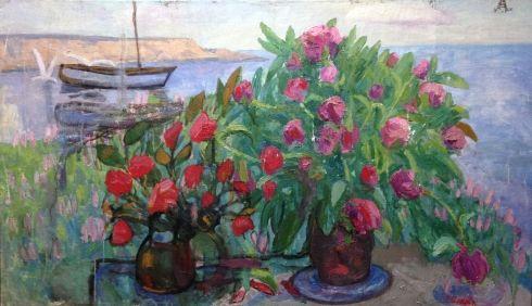«Красные тюльпаны» 1970 е - Илюшин Алексей Андреевич