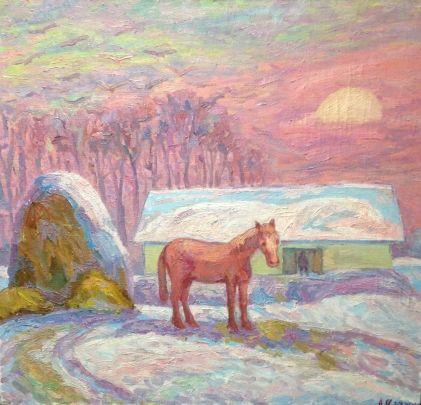 «Январь» 1970 е - Илюшин Алексей Андреевич