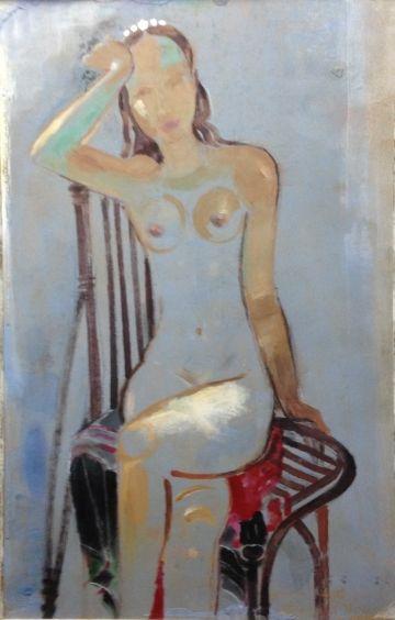 «Девушка на голубом» 2011 - Хохленко Виктор Глебович